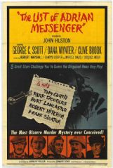 The List of Adrian Messenger 1963 DVD - George C. Scott / Dana Wynter